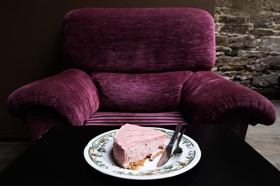 A torta de fresa do Airas Nunes. Foto: Iván Barreiro