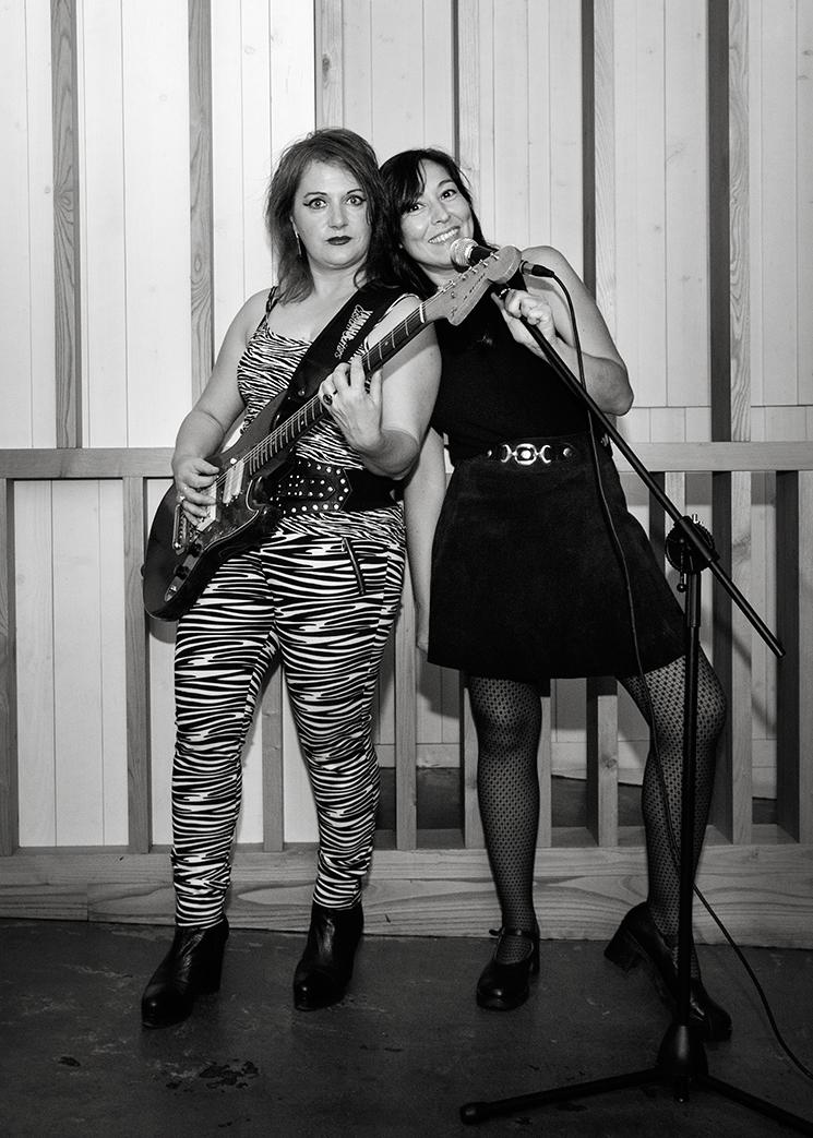 Mayte Vascuas e Cristina Fuentes. Foto: Iván Barreiro