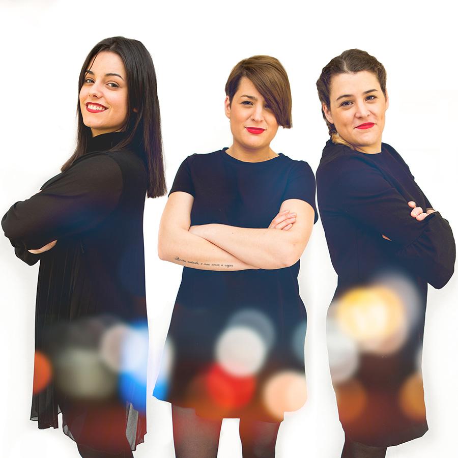 Aida, Olaia e Sabela presentarán o primeiro disco de Tanxugueiras o 3 de xuño na Capitol. Foto: PhixelinPhoto