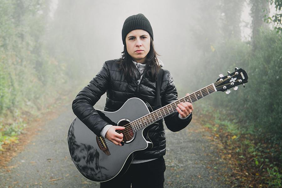 María José é licenciada en Comunicación Audiovisual e música. Foto: Miguel Gandío