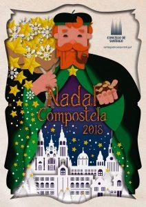 Nadal en Compostela