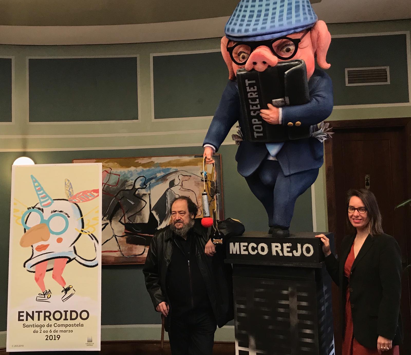 Presentación do Entroido. Foto: Concello de Santiago