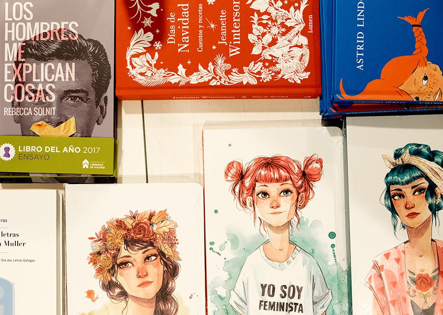 Libros en Lila de Lilith. Foto: Iván Barreiro