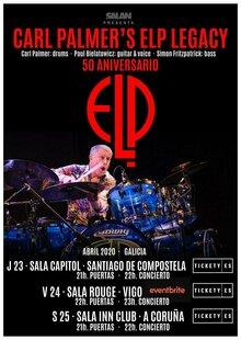 Carl Palmer's ELP Legacy - 50 Aniversario @ Sala Capitol