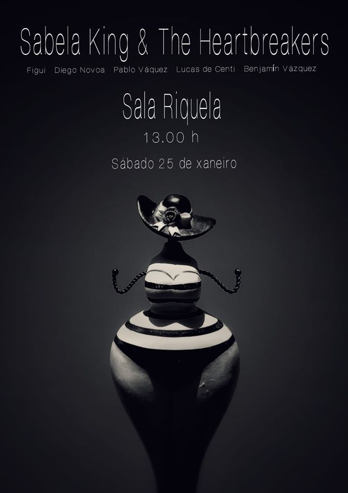 Sabela King & The Heartbreakers @ Sala Riquela