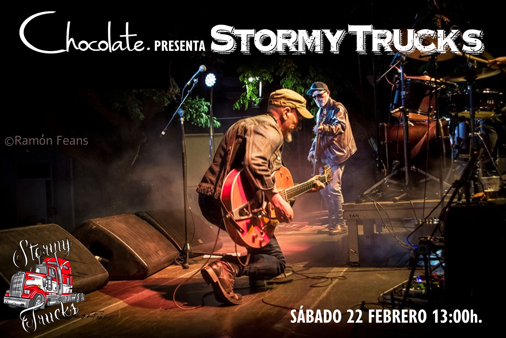 Stormy Trucks @ Chocolate