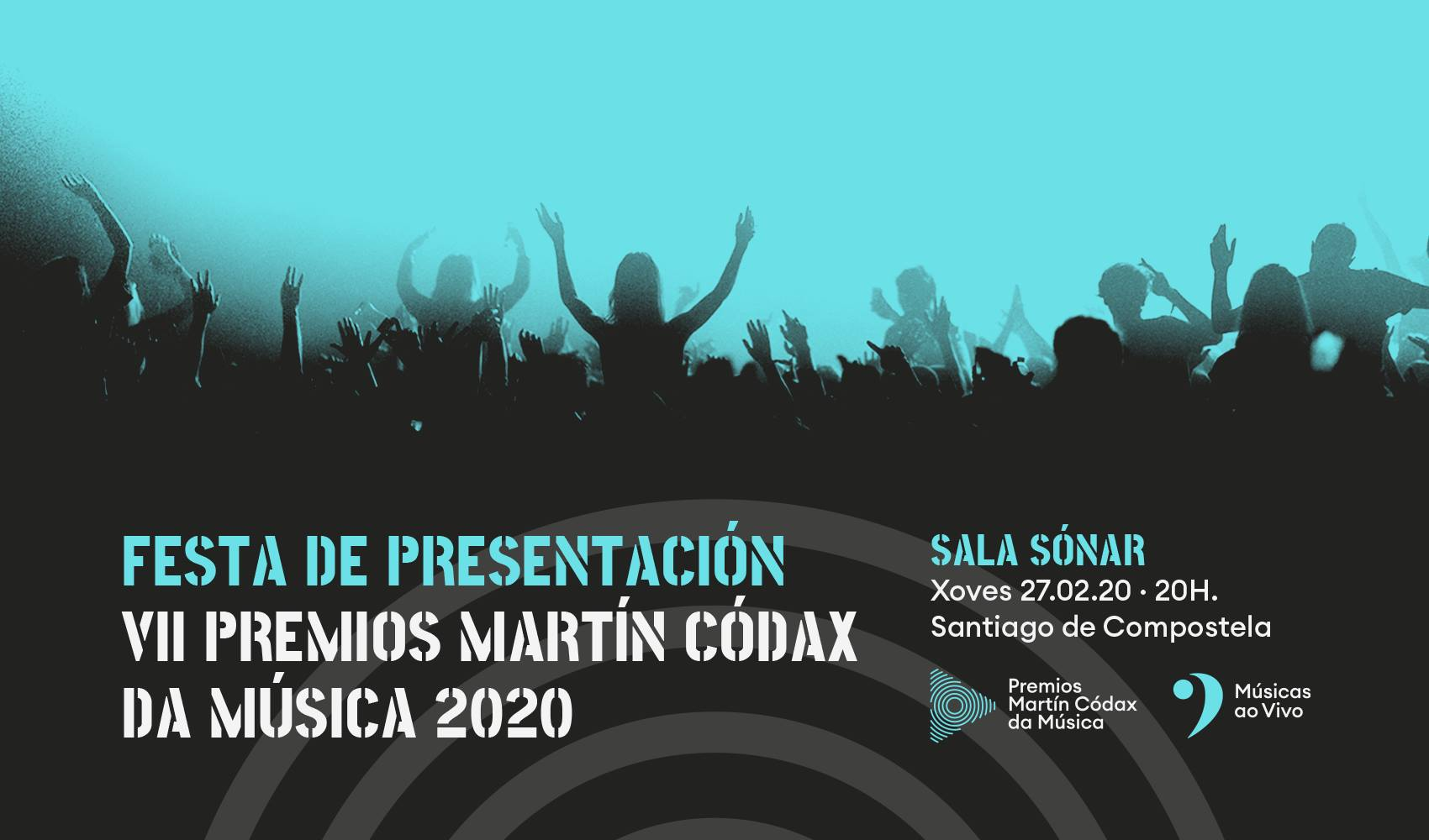 Presentación dos VII Premios Martín Códax da Música @ Sala Sonar