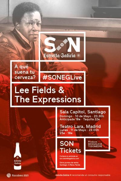 Lee Fields & The Expressions @ Sala Capitol