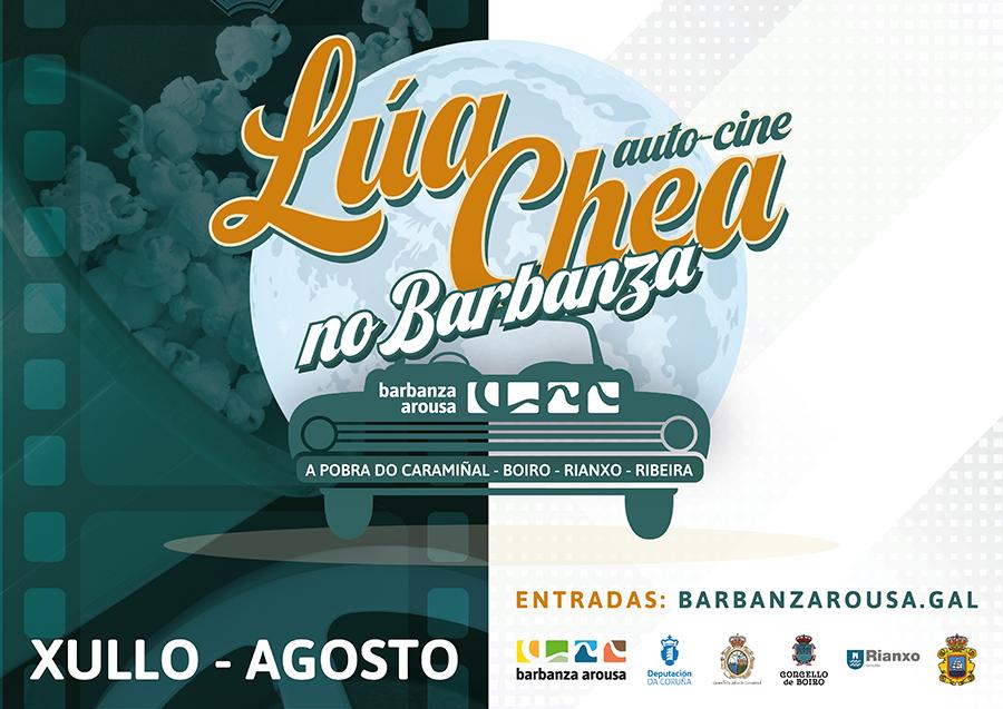 Autocine 'Lúa Chea no Barbanza' @ Boiro, Ribeira, Rianxo e a Pobra do Caramiñal