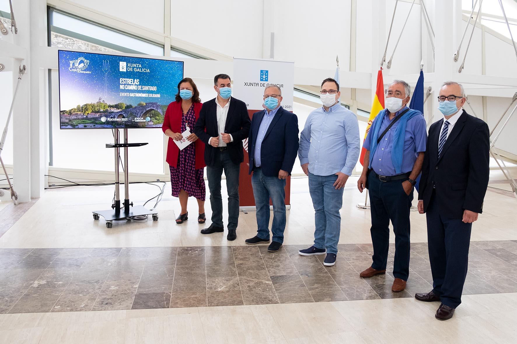 Máis de 30 Estrelas Michelin, reunidas en Negreira cun fin benéfico