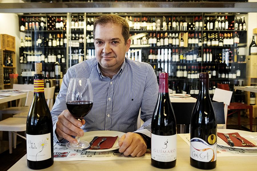 Javier Míguez, das Bodeguillas: «A idea sempre foi montar un negocio onde a calidade dos produtos fose un referente»