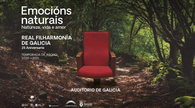 A Real Filharmonía de Galicia arranca a tempada na que celebra o seu 25 aniversario