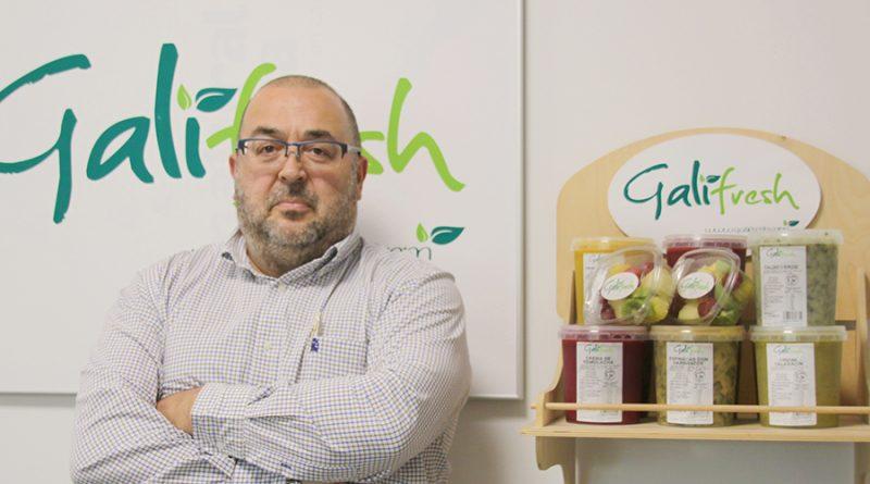 Eusebio Méndez, xerente de Galifresh: «A calidade da horta galega é espectacular»