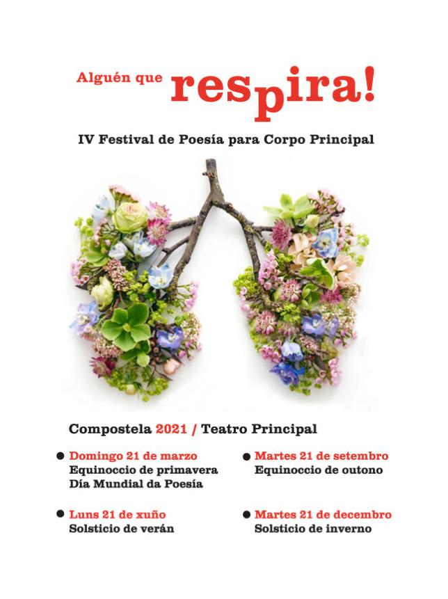 Festival Alguén que respira! @ Teatro Principal - Compostela