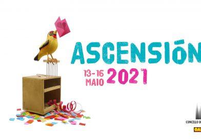 Andrés Suárez, De Vacas e María Arnal i Marcel Bagés, nas Festas da Ascensión 2021