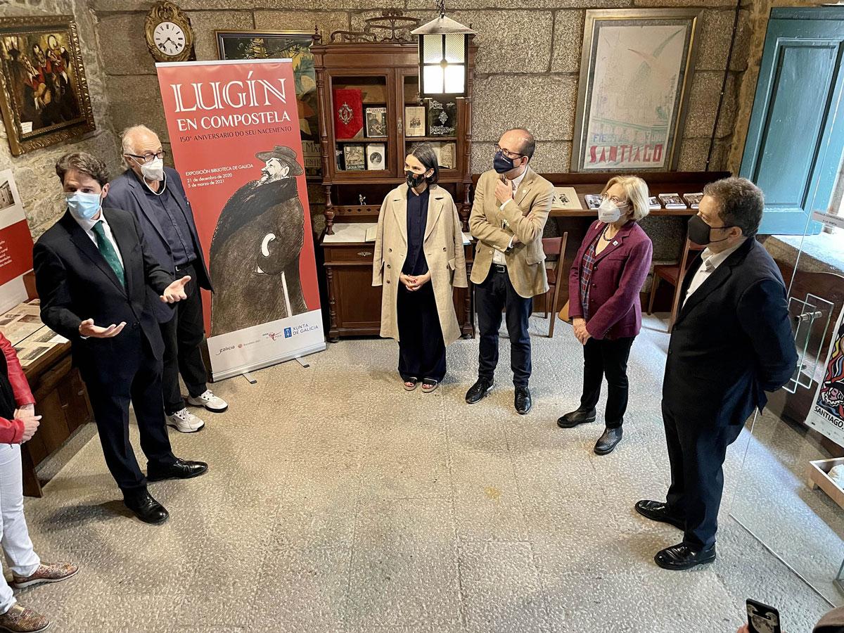 Lugín en Compostela. 150º aniversario do seu nacemento @ Museo Casa da Troya Rúa da Troia, 5 Santiago